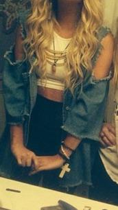 jacket,jeans,holey jeans,holey jacket,holes,clothes,instagram