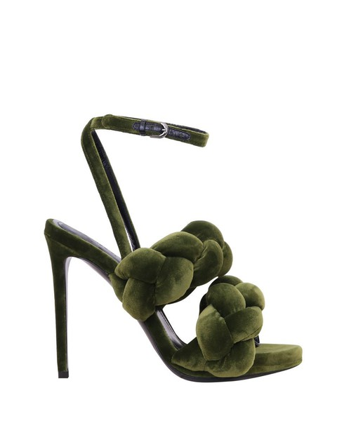 Marco De Vincenzo velvet sandals sandals velvet shoes