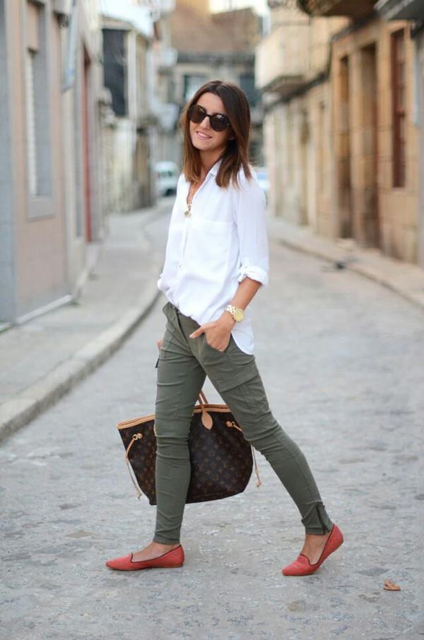 jeans pants green cargo pants cargopants zip spandex shoes