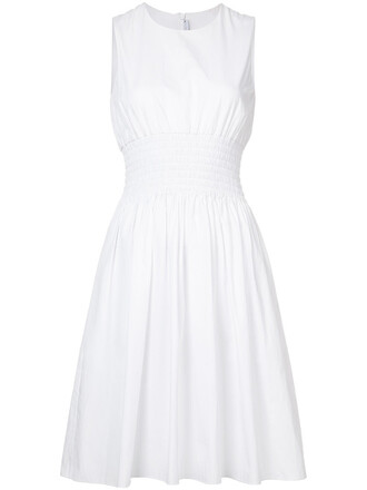 dress women white cotton