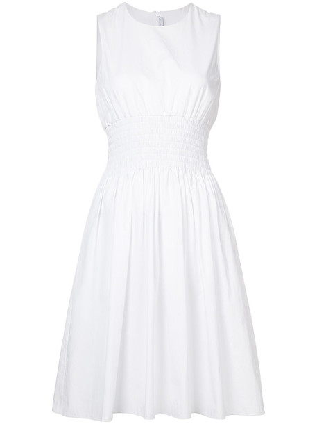 dress women white cotton