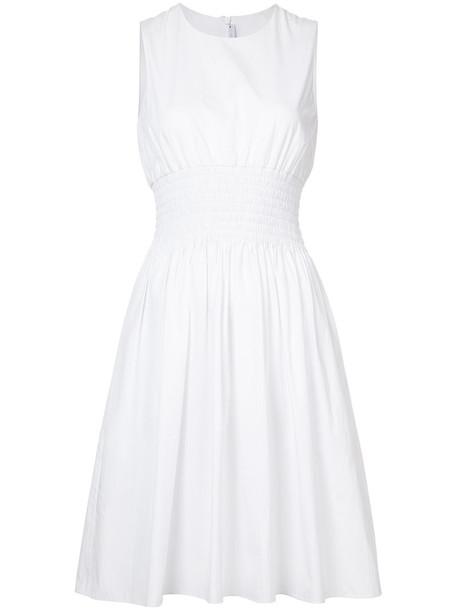 Rosetta Getty dress women white cotton