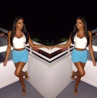 skirt light blue summer outfits party party dress