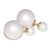 Double Pearls Earrings White Mate - Style by Stories