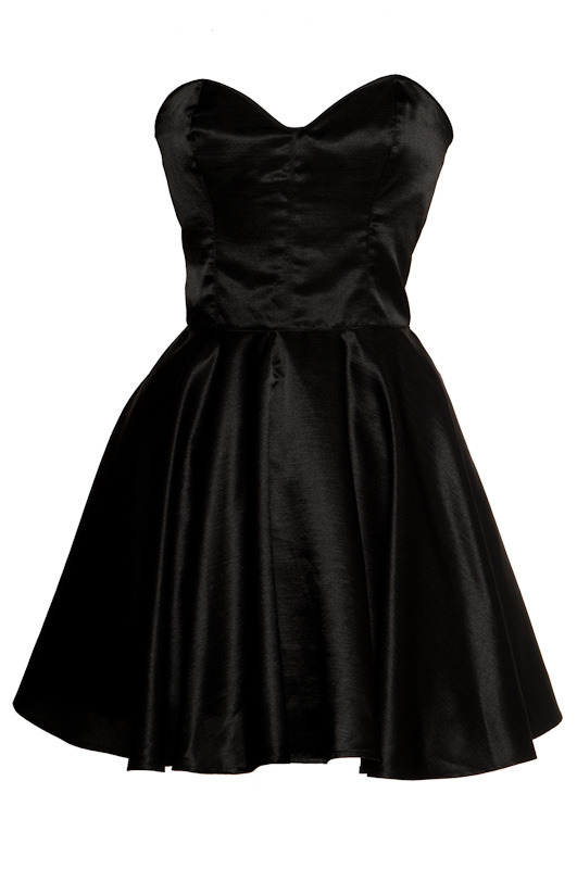 Vintage Inspired Silk 50s Style Little Black Dress  | Style Icon`s Closet