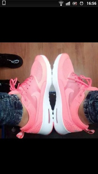 shoes nike shoes pink shoes