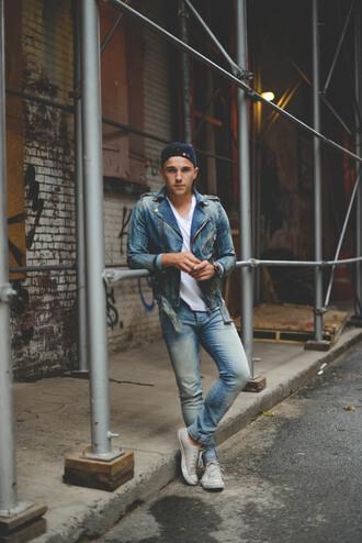 scout sixteen jacket t-shirt jeans shoes jewels