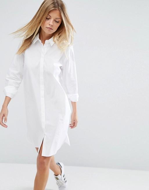 ASOS Cotton Shirt Dress at asos.com