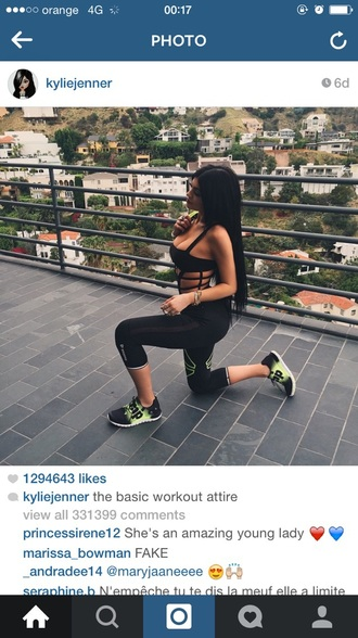swimwear kylie jenner cut-out outfit celebrity style sportswear