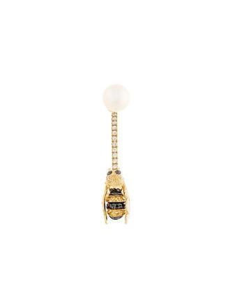 metallic women bee jewels