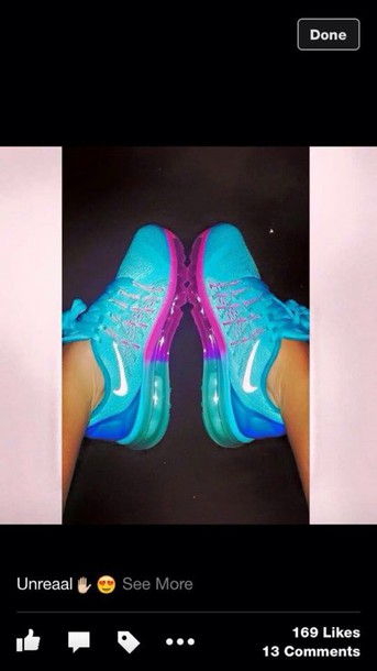 shoes nike women's blue these exactly