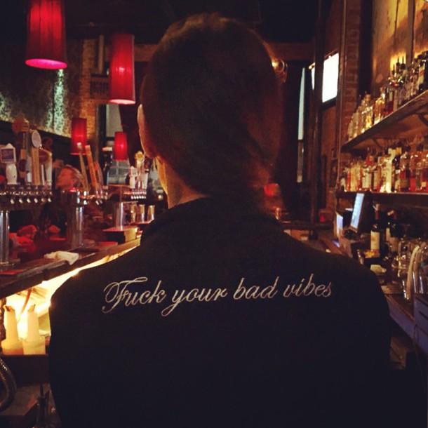 blouse fuckyourbadvibes shirt top