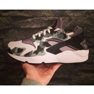 shoes nike huarache nike shoes nike air huaraches sneakers camouflage