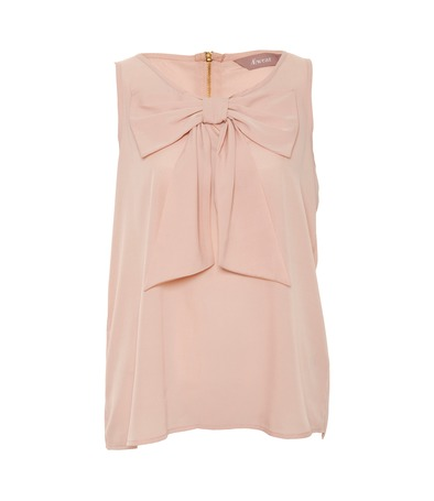 Pink bow cami, a wear, awear, topstops