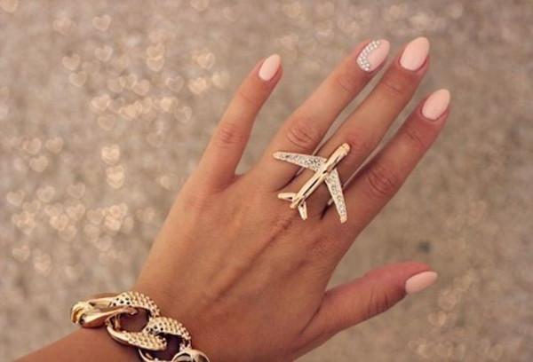Jewels Ring Nail Polish Plane
