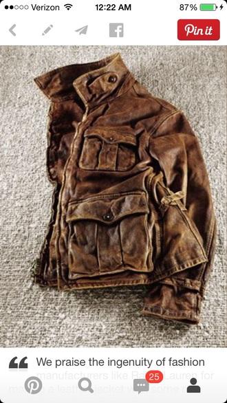 zipper pockets warn distressed