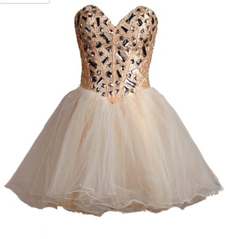 dress prom dress champagne prom dress champagne dress diamonds sequin dress sequins corset top