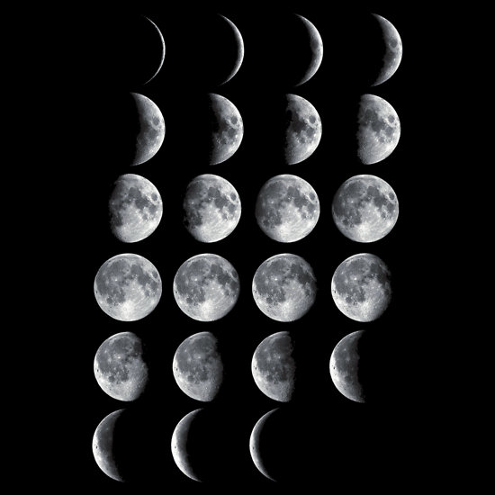 """Moon Phases"" T-Shirts & Hoodies by nefos 