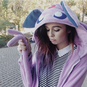 pajamas sylveon onesie pokemon pokemon onesie sylveon onesie lavender top
