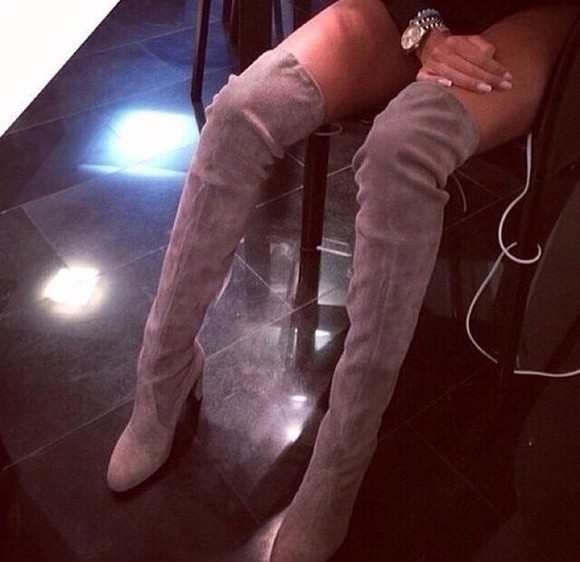 boots taupe high heels fall outfits