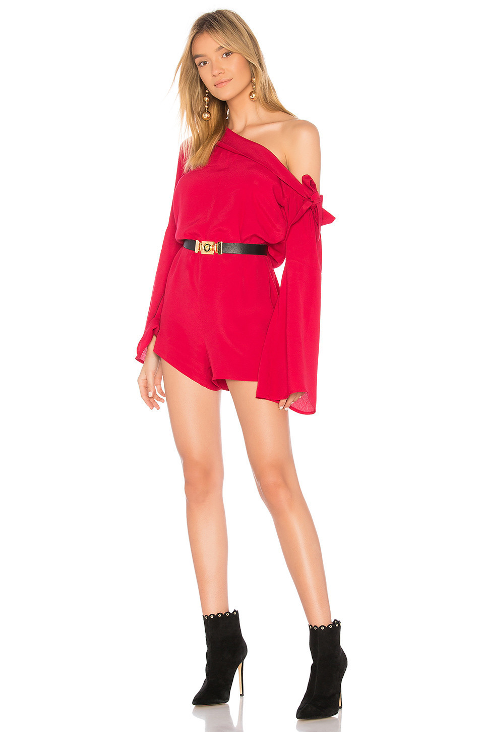 4309ddbf0e Alice McCall Red Locomotion Playsuit - Wheretoget
