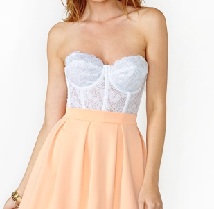 Kelly lace bustier · fashion struck · online store powered by storenvy