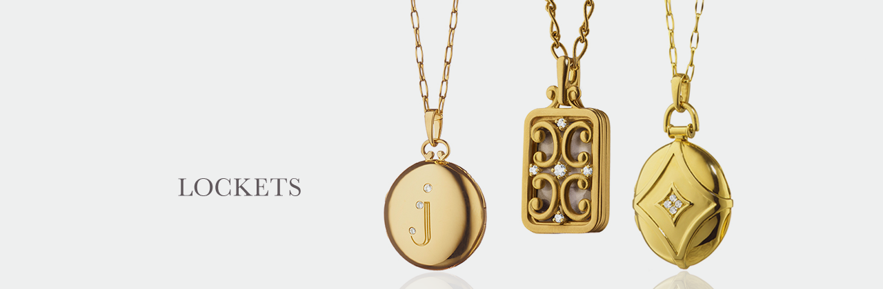 Locket Collection - Necklaces & Pendants | Monica Rich Kosann