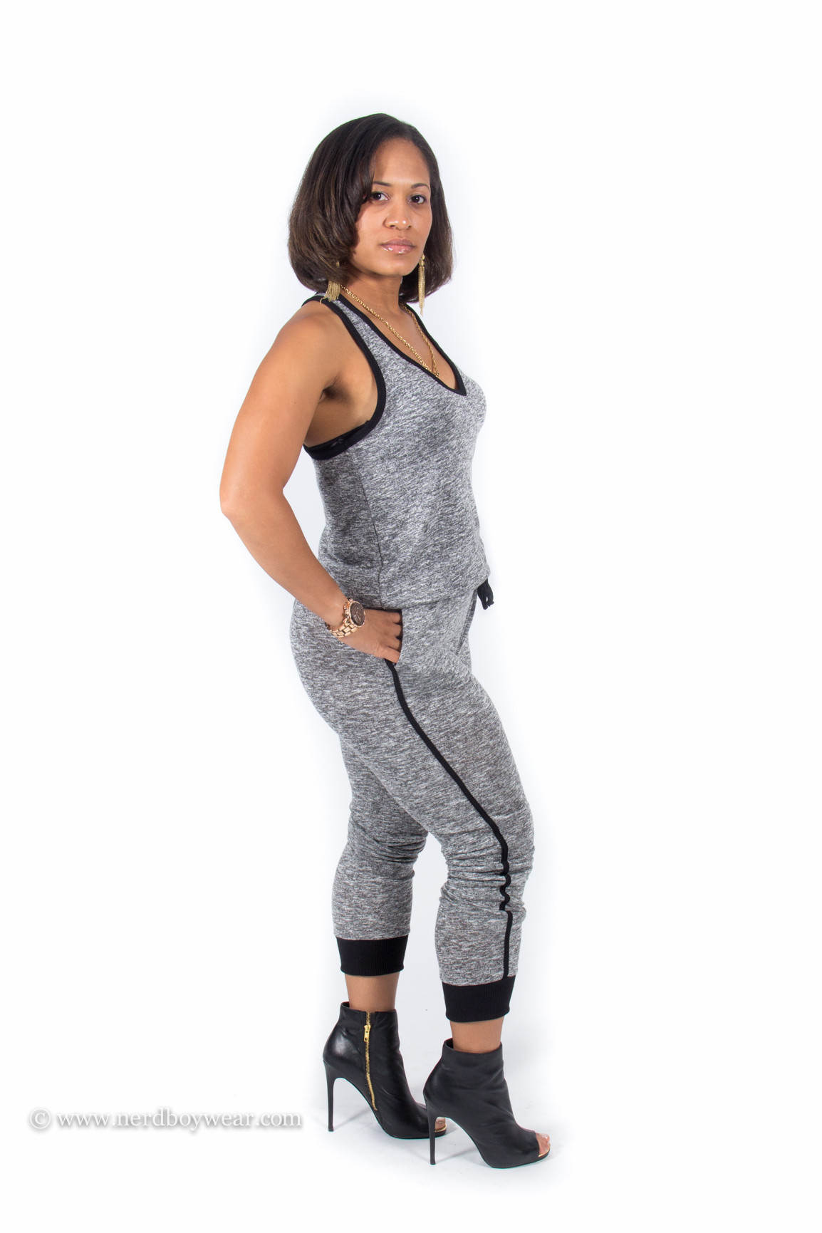 Freeloader knit jumpsuit