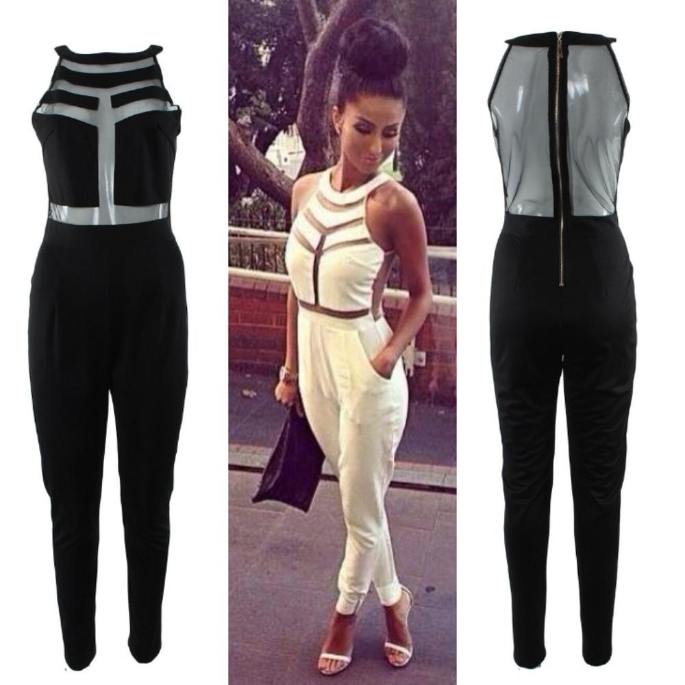 Mesh Fashion Jumper / Stylemogul