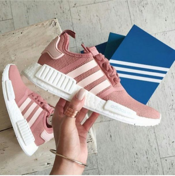 pink adidas trainers nmd