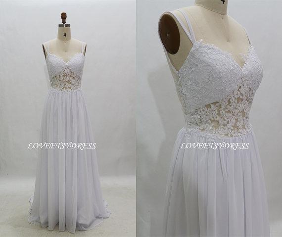White prom dressplus size prom dresslong prom by loveetsydress
