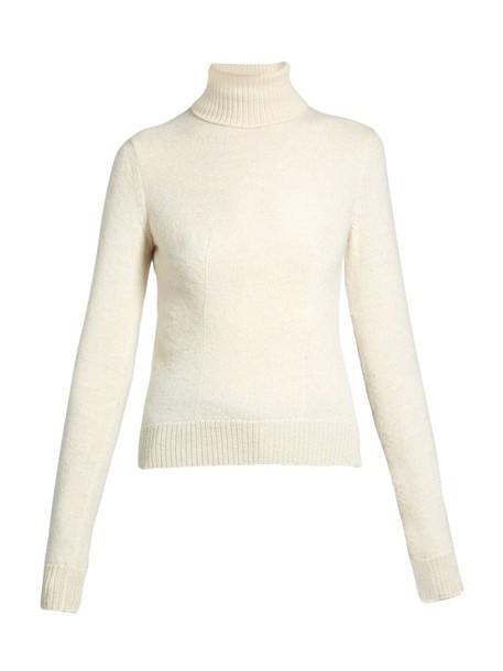 Stella McCartney sweater wool knit cream