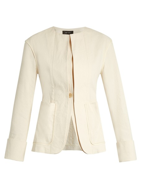 Isabel Marant jacket cotton beige