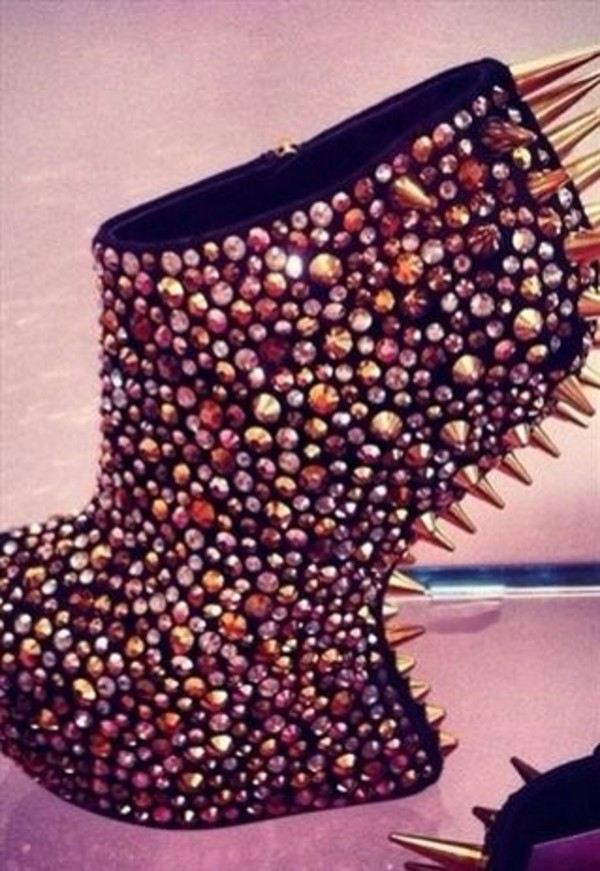shoes heels nightwalks spike jeffrey campbell