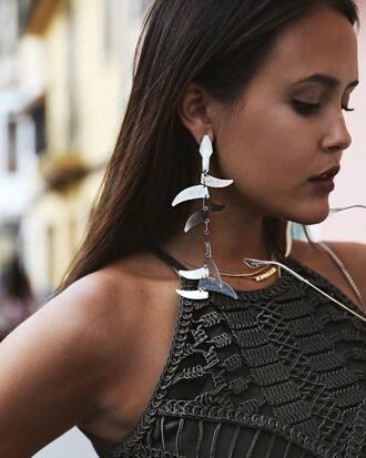 jewels tumblr jewelry silver jewelry earrings silver earrings necklace