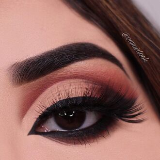 make-up nude brown