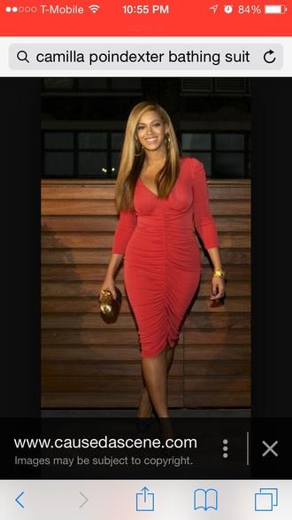 dress red beyonce dress beyonce red dress