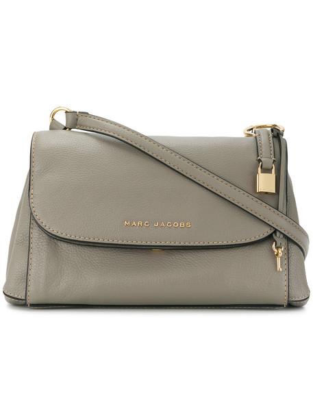 Marc Jacobs boho women bag shoulder bag leather grey