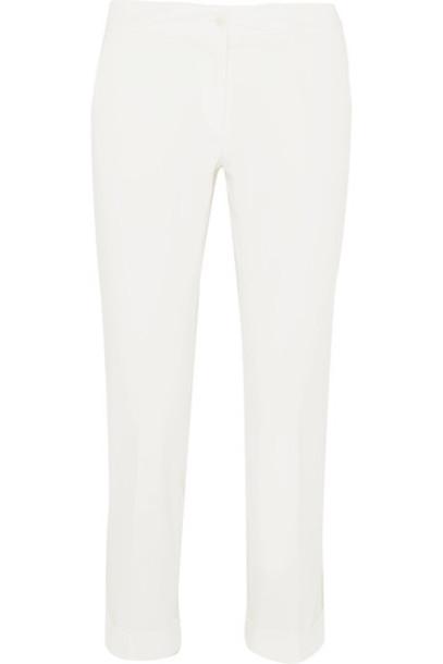 ETRO pants cropped white cotton