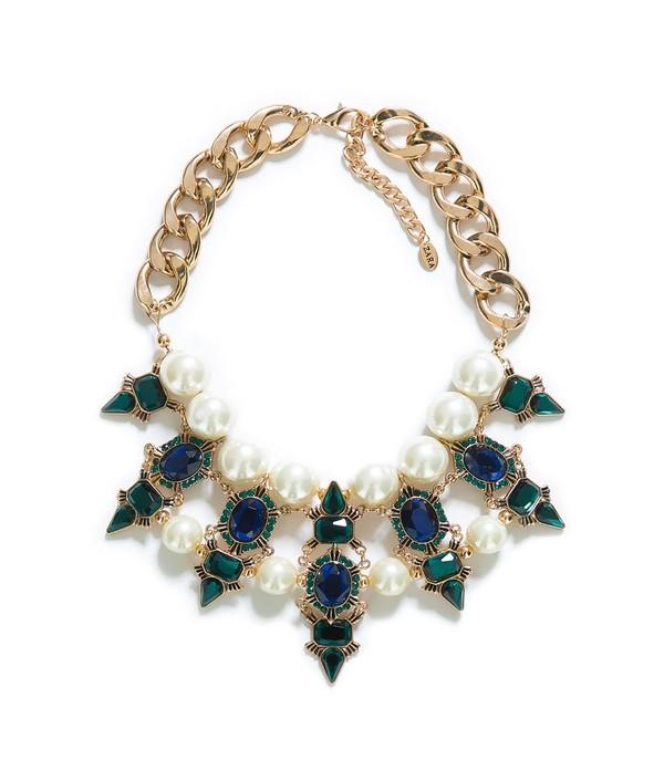 jewels zara aliexpress statement necklace pearl
