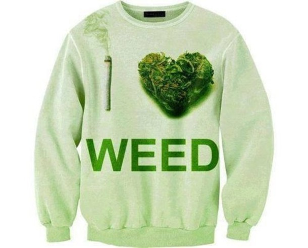 shirt pot joint i love weed sweater weed cardigan
