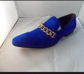 shoes,blue,blue shoes,royal blue shoes,loafers,menswear,dress shoes,leather men dress shoes,suede shoes,royal blue