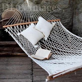 bag hammock summer inie cushion boho bohemian hippie sweet white hamaca relax big wood mothers day gift idea