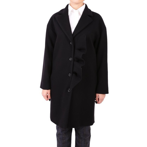 BOUTIQUE MOSCHINO coat wool black