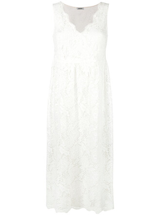 dress women lace white cotton