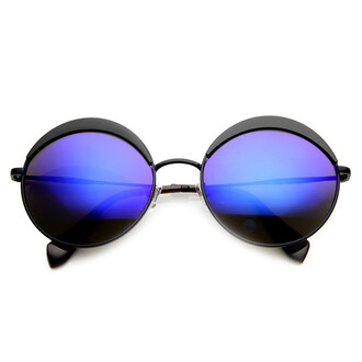 sunglasses black black sunglasses round round sunglasses mirrored sunglasses