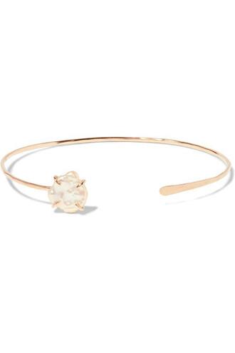 cuff pearl gold jewels