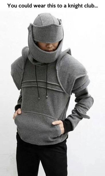 Sweater: grey hoodie, game, gamer, funny sweater, holiday gift ...