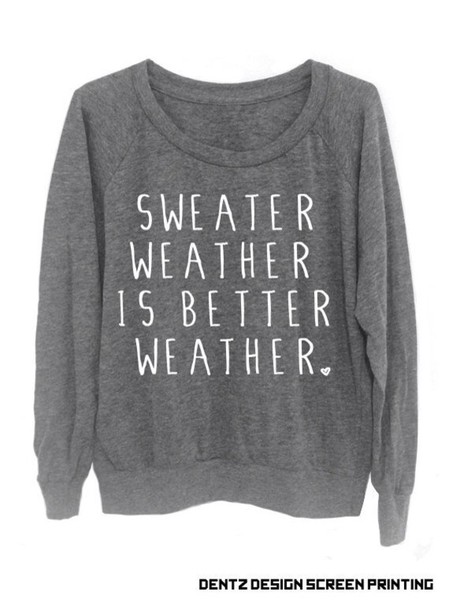 Sweater: winter sweater, sweatshirt, grey sweater, sweater weather ...