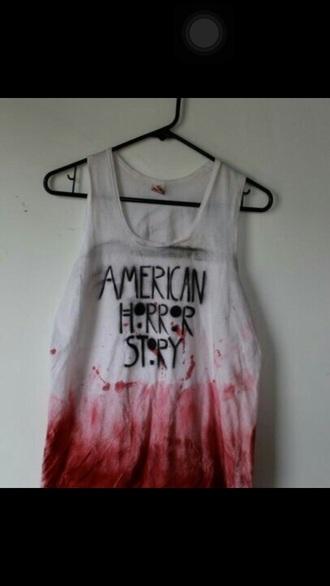 shirt american horror story ahs tank top